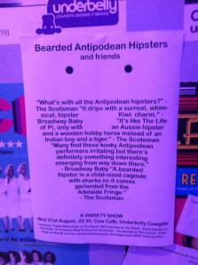 Bearded Antipodean Hipsters